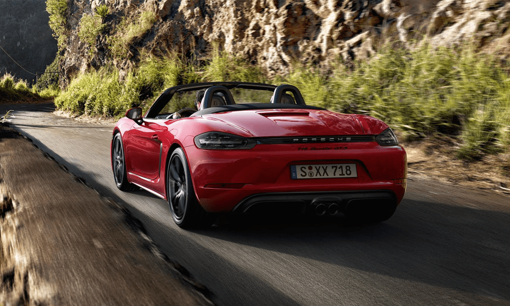 Location Porsche Boxster 718 GTS | Deluxe Rental Cars Lausanne