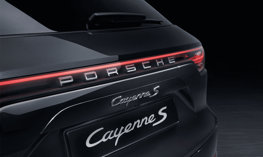 Location Porsche Cayenne S | Deluxe Rental Cars Lausanne