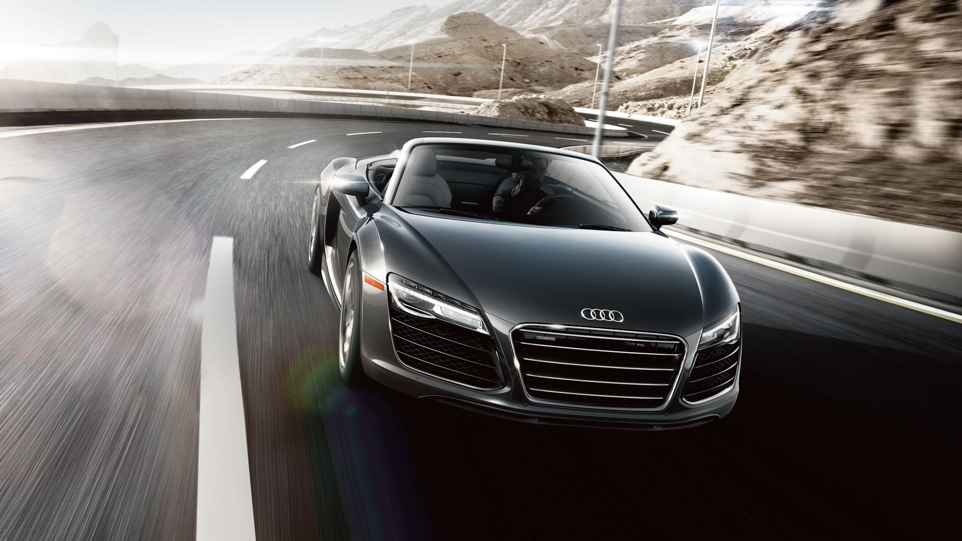 Location Audi R8 V10 Spyder | Deluxe Rental Cars Lausanne