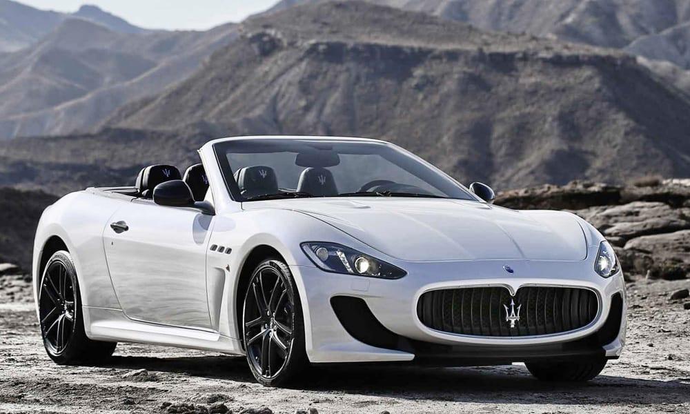 Location Maserati GrandCabrio Sport | Deluxe Rental Cars Lausanne