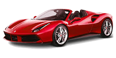 Location Ferrari 488 Spider chez Deluxe Rental Cars
