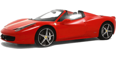 Ferrari 458 Spider Rent at Deluxe Rental Cars