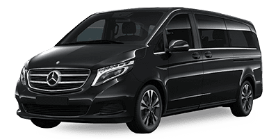 Mercedes V-Class 250 at Deluxe Rental Cars