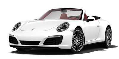 Porsche Carrera 4 cabriolet at Deluxe Rental Cars