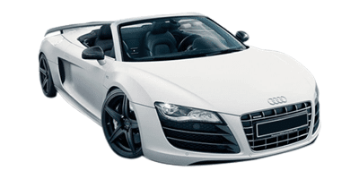 Audi R8 Spyder at Deluxe Rental Cars