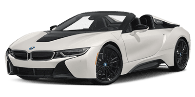 BMW I8 at Deluxe Rental Cars