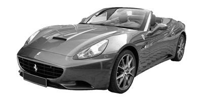 Rent Ferrari California V8 at Deluxe Rental Cars