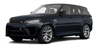 Rent Range Rover Sport SVR at Deluxe Rental Cars