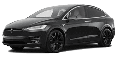 Tesla Model X 100 rentals at Deluxe Rental Cars