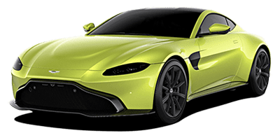 Aston Martin Vantage Rental at Deluxe Rental Cars