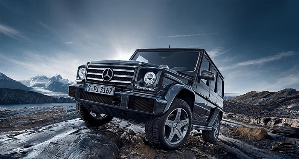 Location Mercedes G500. Deluxe Rental Cars est un service de location de voitures de luxe et de sport actif sur Lausanne, Montreux, Genève, Sion, Fribourg, Neuchâtel.