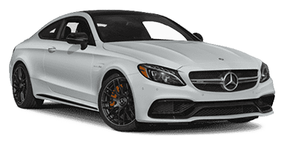 Mercedes C63 S AMG at Deluxe Rental Cars
