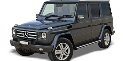 Rent Mercedes G500 AMG at Deluxe Rental Cars