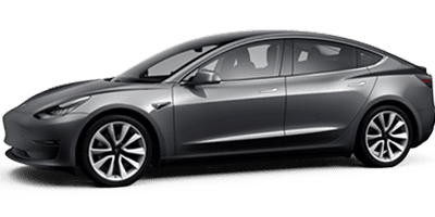 Location Tesla Model 3 chez Deluxe Rental Cars