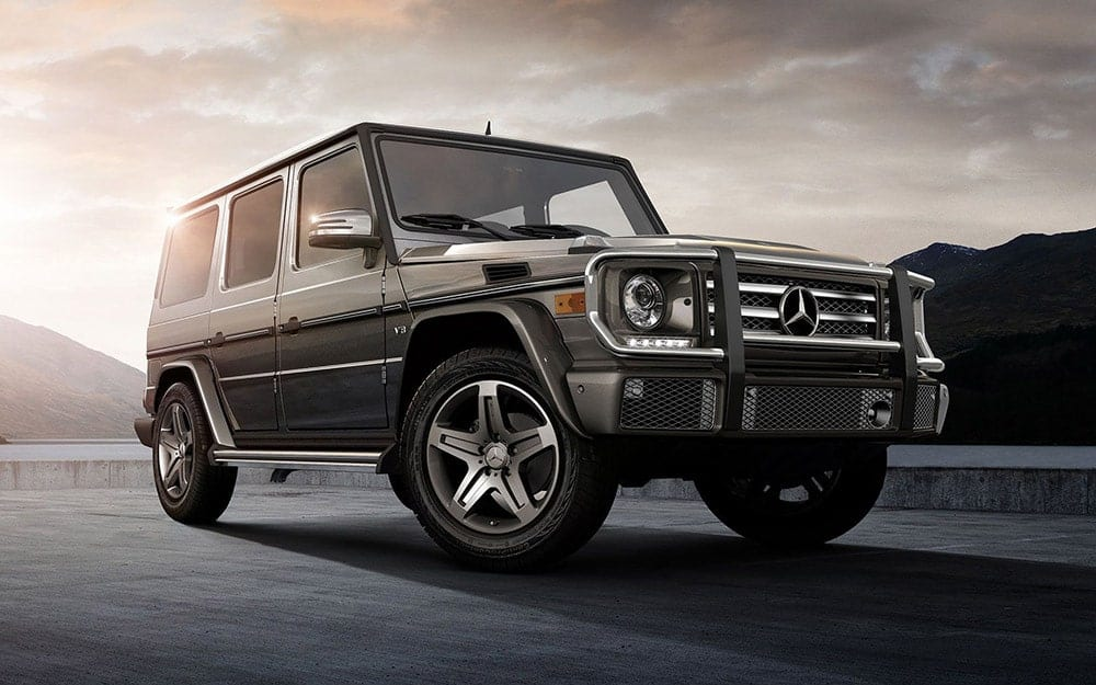 Mercedes G500 AMG - Deluxe Rental Cars