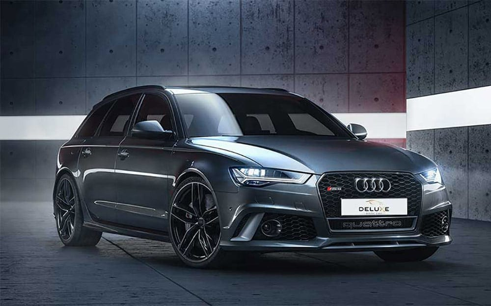 Audi RS6 - Deluxe Rental Cars