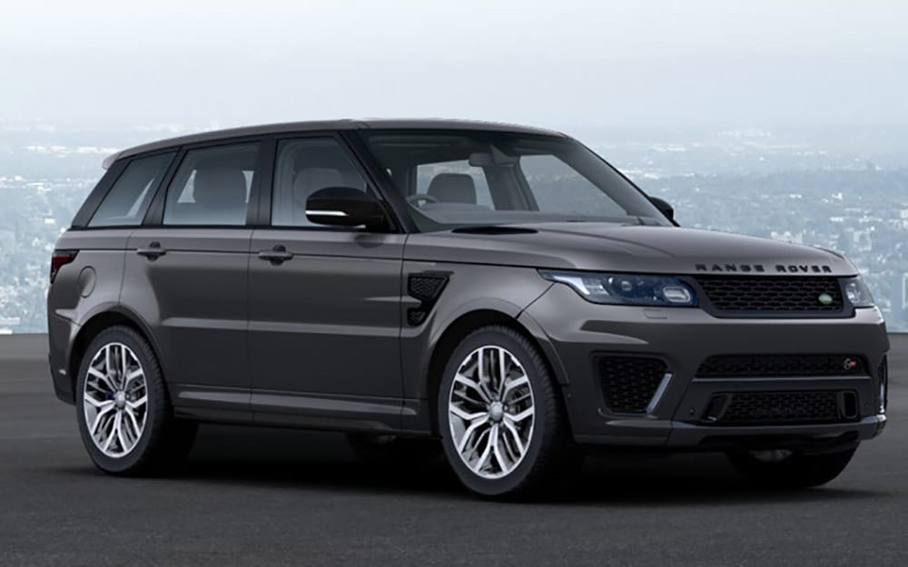 Range Rover Sport SVR - Deluxe Rental Cars