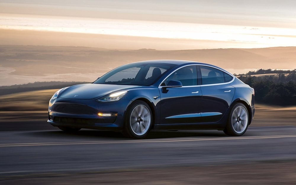 Tesla Model 3 - Deluxe Rental Cars