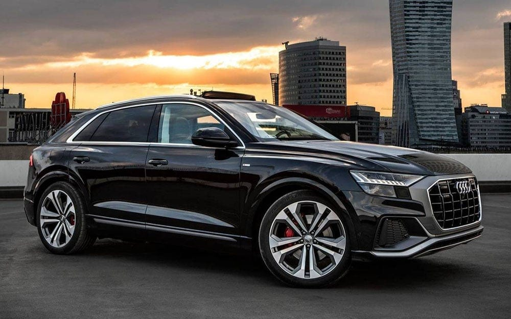 Audi Q8- Deluxe Rental Cars