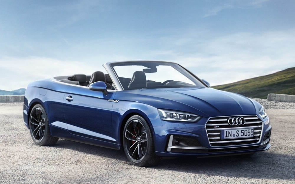 Audi S5 Cabriolet - Deluxe Rental Cars