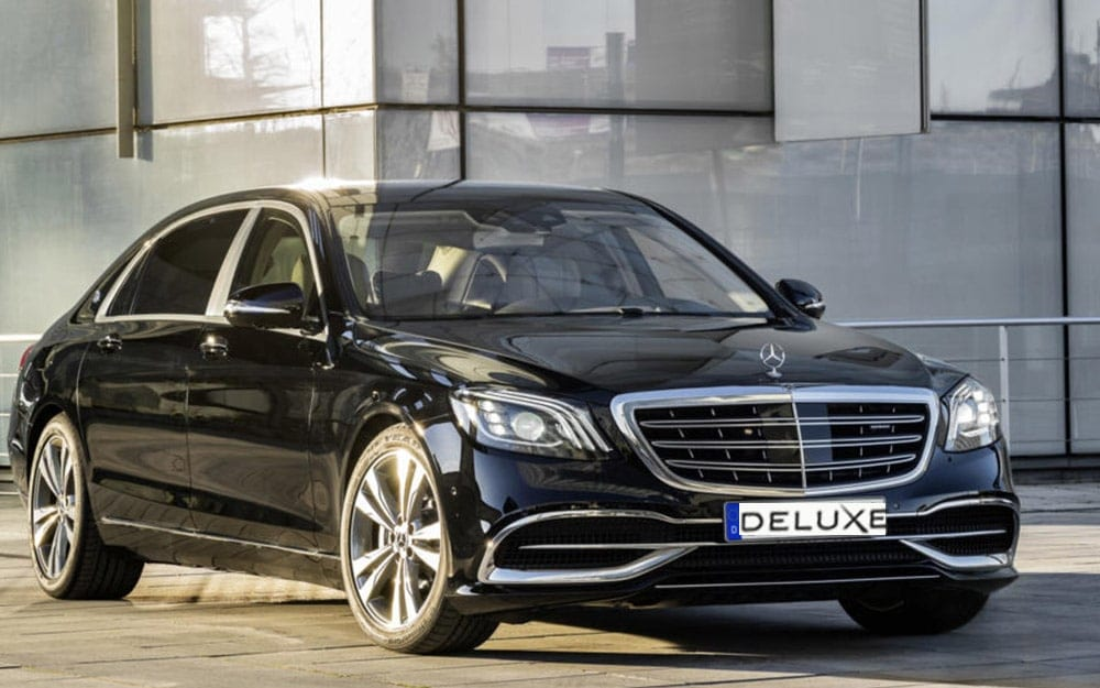 Mercedes S560 - Deluxe Rental Cars