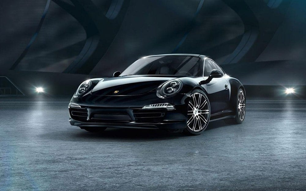 Porsche 911 Carrera 4 black edition - Deluxe Rental Cars