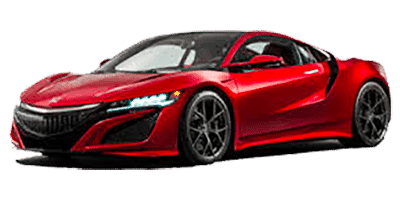 Honda NSX Rental at Deluxe Rental Cars