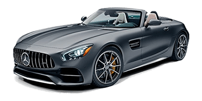 Mercedes AMG GT Roadster at Deluxe Rental Cars