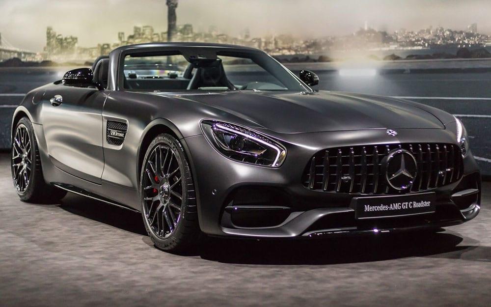 Mercedes GT Roadster - Deluxe Mietwagen