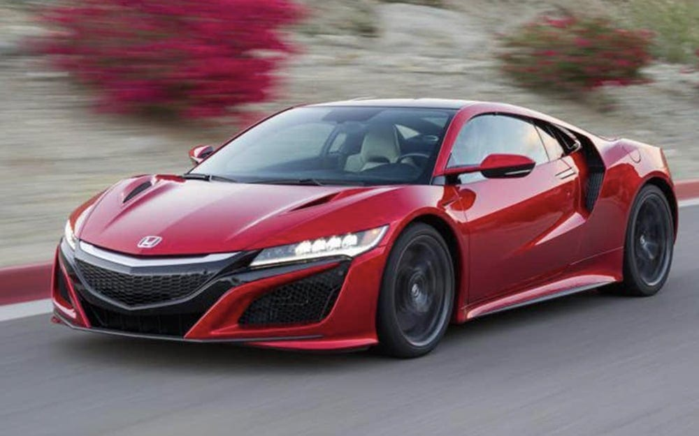 Location Honda NSX | Deluxe Rental Cars Lausanne