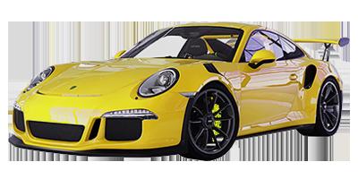 Location Posche 911 GTC RS chez Deluxe Rental Cars