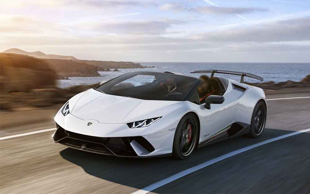 Lamborghini Huracan - Deluxe Rental Cars