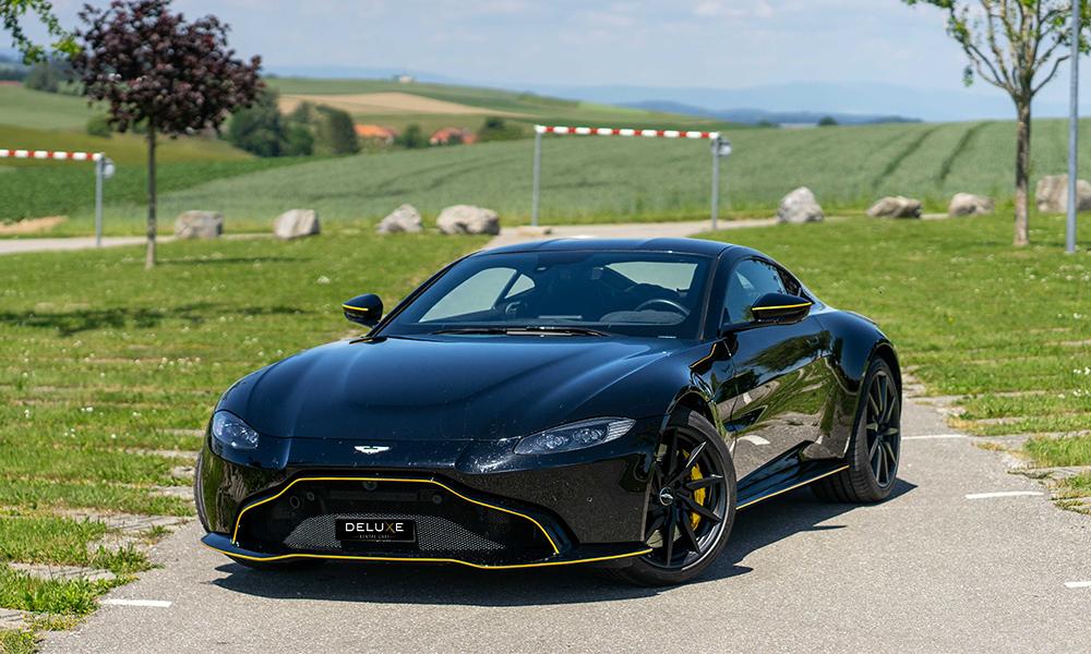 arrendar Aston Martin Vantage