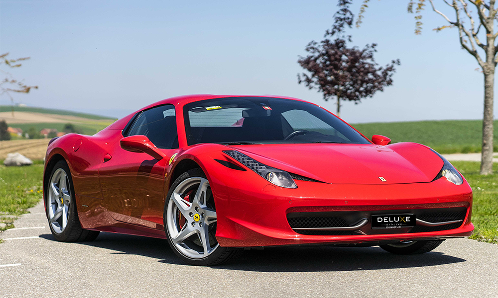 Ferrari 458 Spider - Deluxe Rental Cars