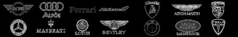 Logo marques de voitures en location