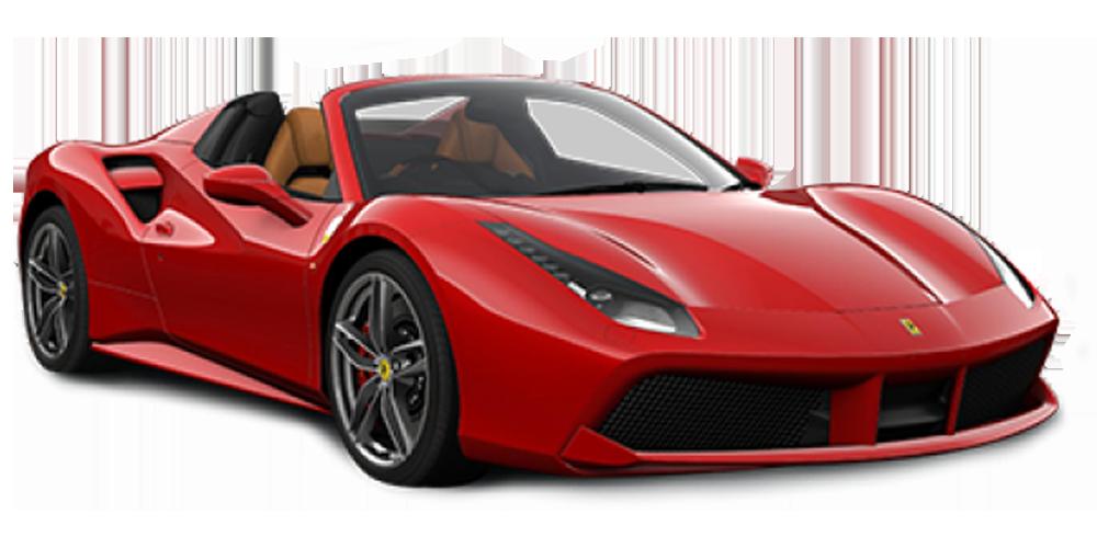 Location Ferrari 488 Spider chez Deluxe Rental Cars