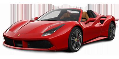Ferrari 488 Spider Rent at Deluxe Rental Cars